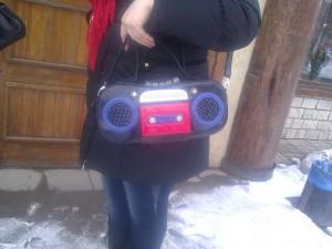 сумка-магнитофон