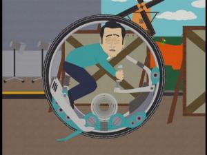 Южный парк моноцикл