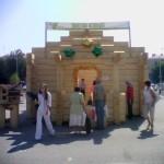 строительная выставка Уфа: дом из бруса