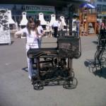 строительная выставка Уфа: тюнингованый мангал