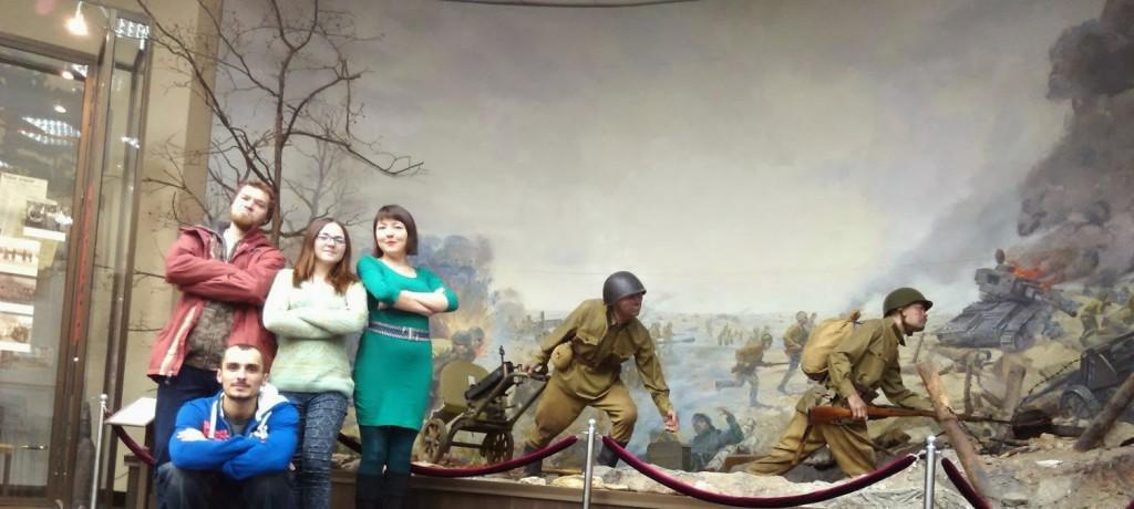 Диарама Республиканский Музей Боевой Славы